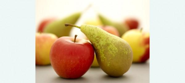 Heerlijke bio appels en peren